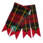 Wallace Scottish Tartan Kilt Hose Socks Flashes