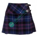 Ladies Pride of Scotland Tartan Mini Kilt Skirt