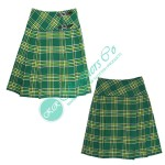 Ladies Irish National Tartan Fashion Kilt Skirt