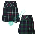 Ladies Mackenzie Fashion Mini Kilt Skirt