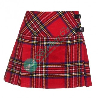 Ladies Scottish Royal Stewart Mini Kilt Skirt