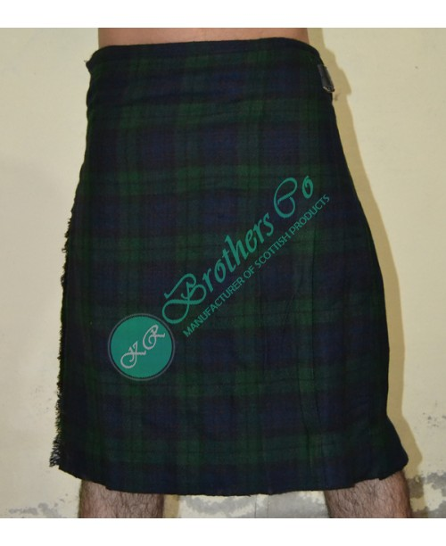 Men Black Watch Traditional Tartan Kilt