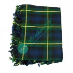 Gordon Tartan Clan Bagpiper Kilt Fly Plaid