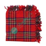 Royal Stewart Tartan Bagpiper Kilt Fly Plaid