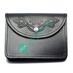 Celtic Embossed Bagpiper Sporran Pouch