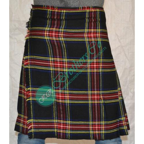 Black Stewart Scottish Traditional Clan Tartan