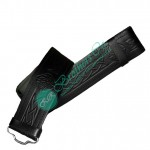 Traditional Celtic Embossed Kilt Leather Belt Adjustable with Velcro