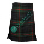 Men Davidson Modern Gunn Highland Traditional Tartan Clan Kilt 5 and 8 Yards